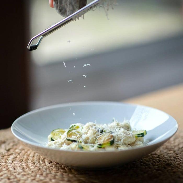 recette de Gnocchi à la crème de Chavignol