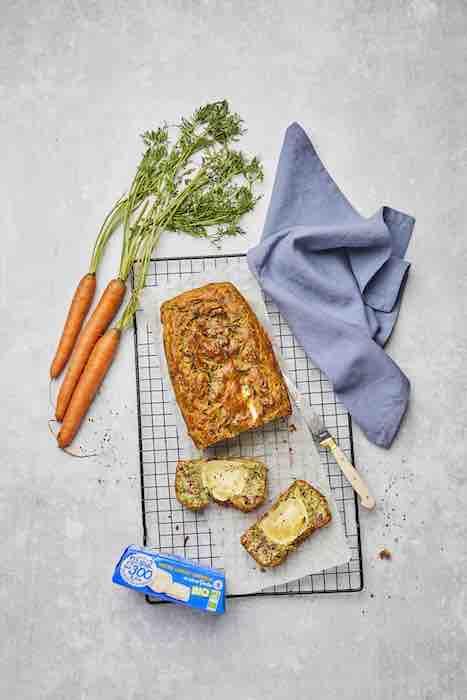 recette de Cake aux fanes de carottes