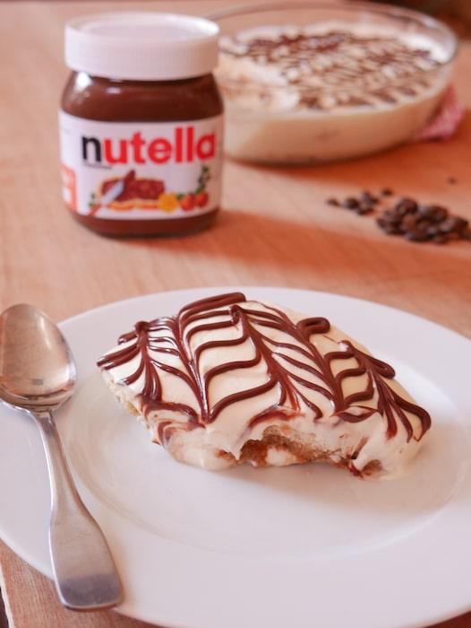 recette de tiramisu au Nutella