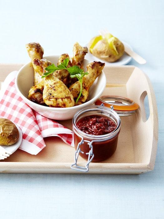 recette de Pilons de poulet à la sauce barbecue