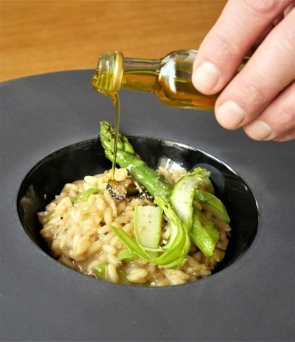 recette de Risotto à la truffe d'été Plantin