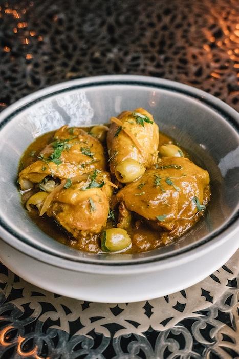 recette de Tajine de poulet au citron confit