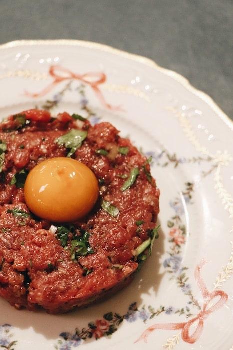 La recette du Tartare Rosie de Denis Gamard