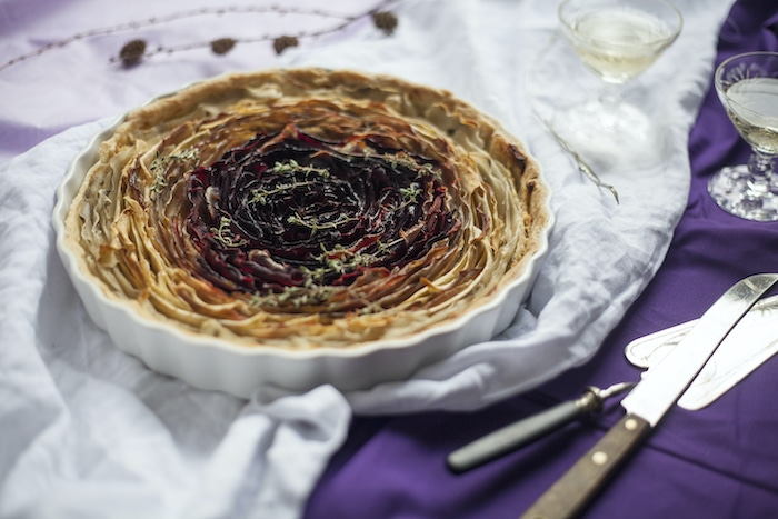 recette de Tartelettes fleur de légumes