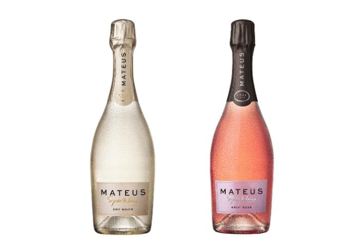 Mateus Sparkling Rosé et blanc