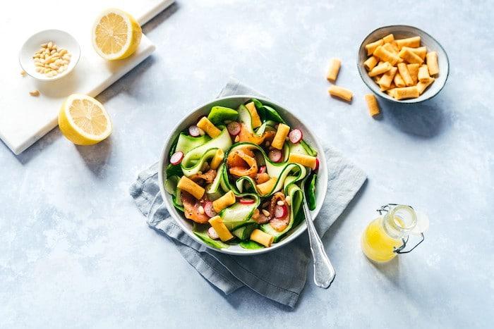 recette de Salade fraîcheur aux Gavottes Boursin