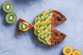 Le gâteau au kiwi
