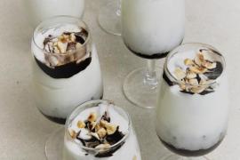 mousse glacée chocolat liégeois