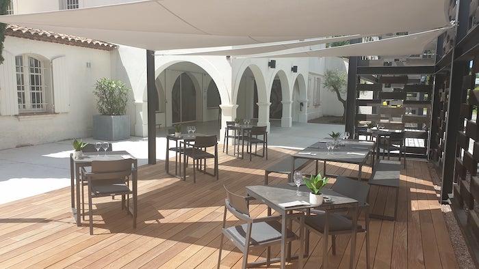 Terrasse des Maîtres-Vignerons de Saint-Tropez