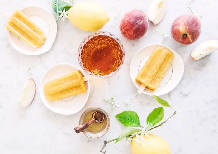 Sorbets fruités au cidre