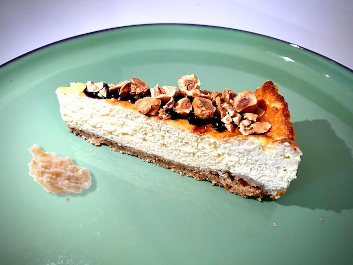 Cheesecake sale au Parmigiano Reggiano