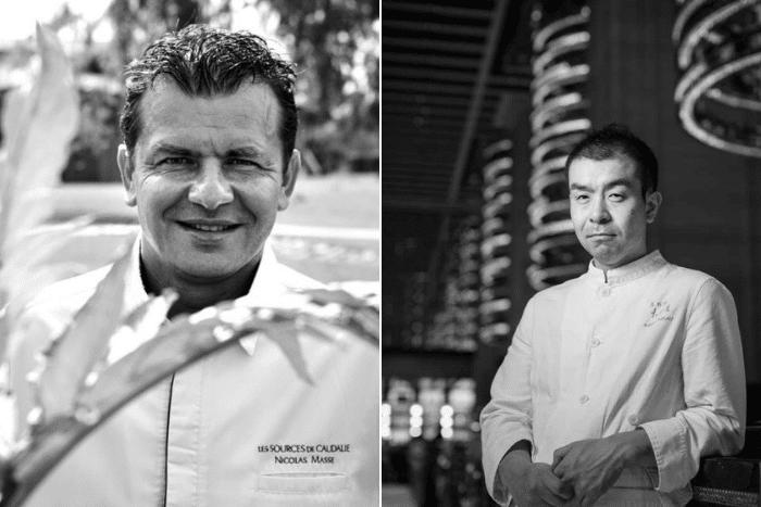 Nicolas Masse et Kazuo Takagi
