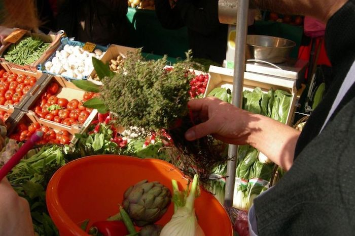 Apprendre à cuisiner au marché