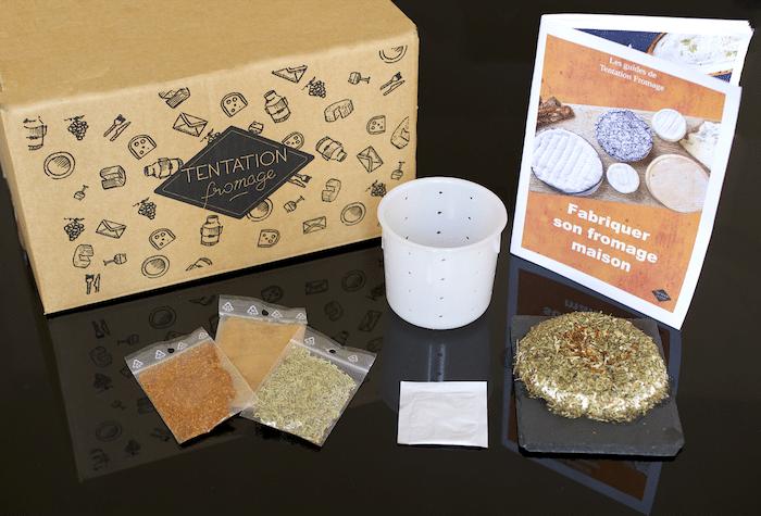 Kit de fabrication de fromage maison