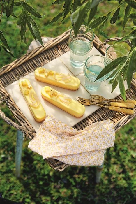 recette de Bûchettes à l'ananas et au rhum