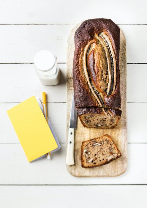 recette de Cake moelleux à la banane