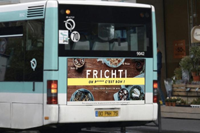 Campagne affichage Frichti