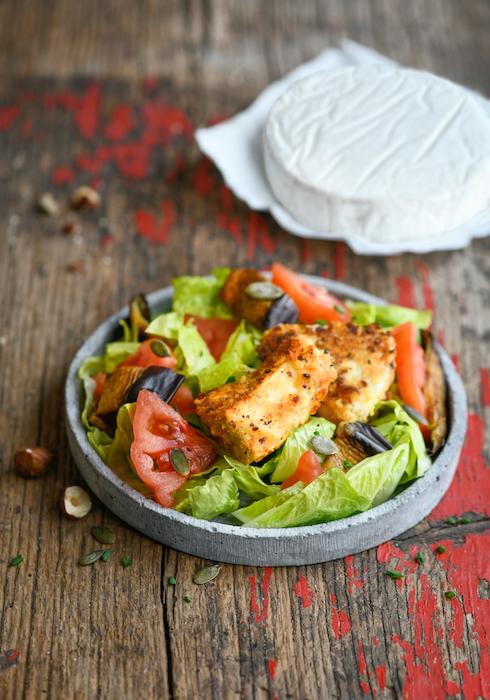 recette de Chèvre boîte snacké en salade