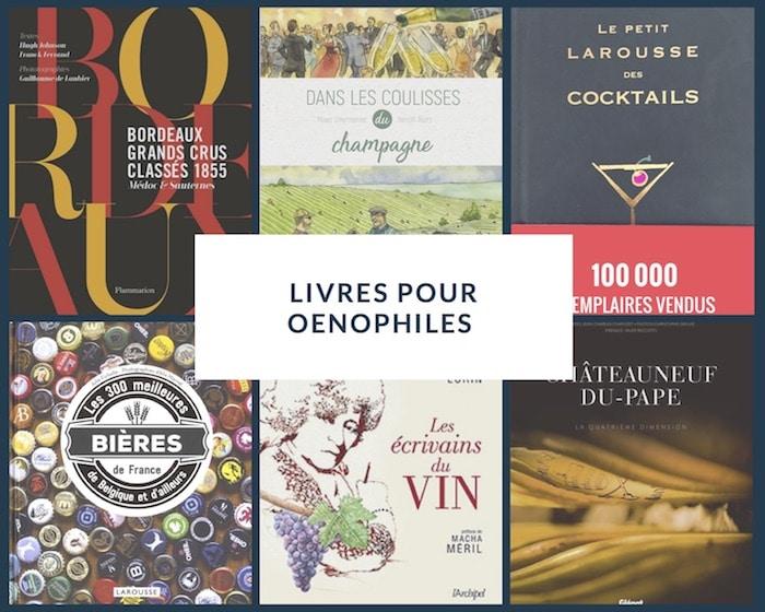 Les livres vins et alcools
