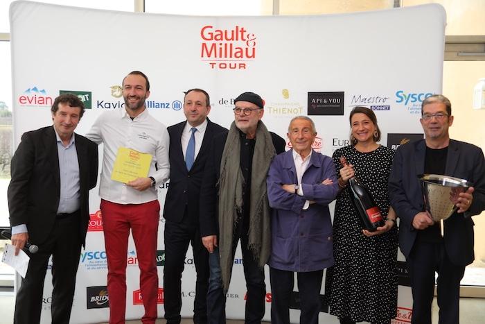 Cédric Béchade Gault&Millau d'Or