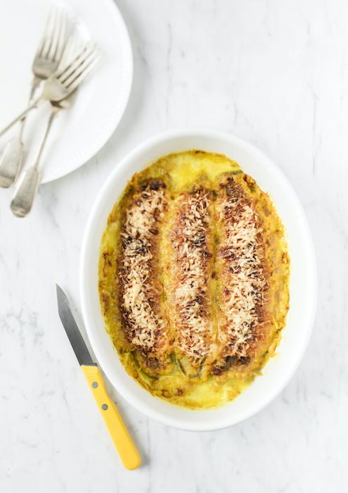 recette de Gratin de banane au curry