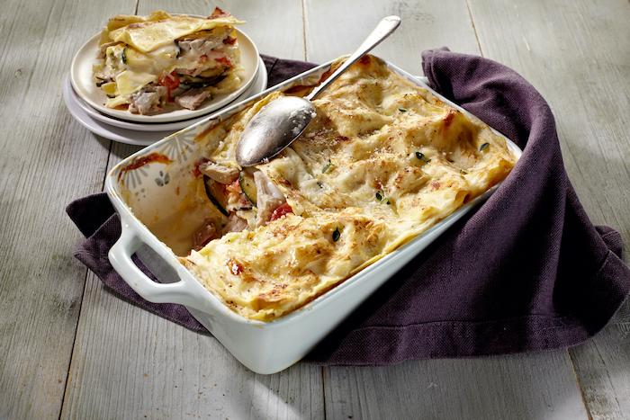 recette de Lasagnes au thon et à la ricotta