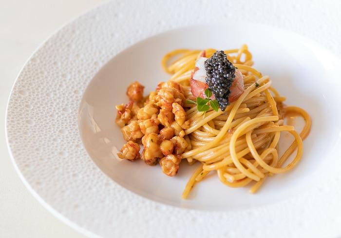 Spaghettis aux gambas rouges de Mazzara