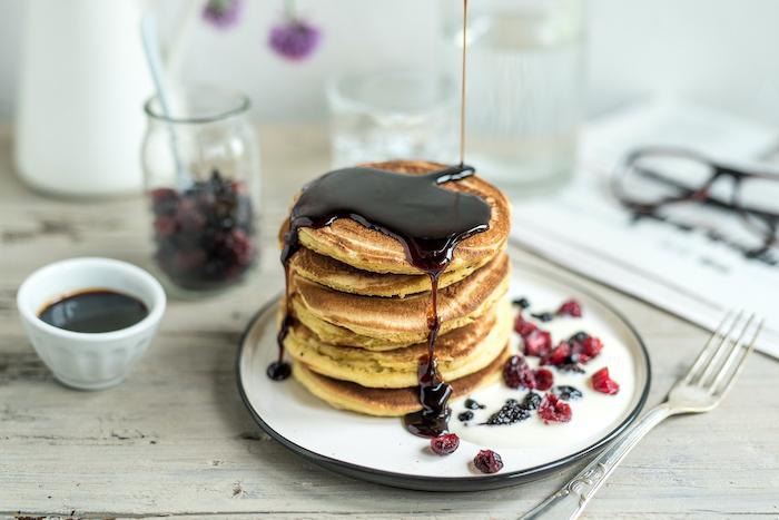recette de Pancakes à la crème de Parmigiano Reggiano