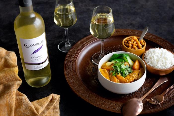 Curry de légumes d'automne