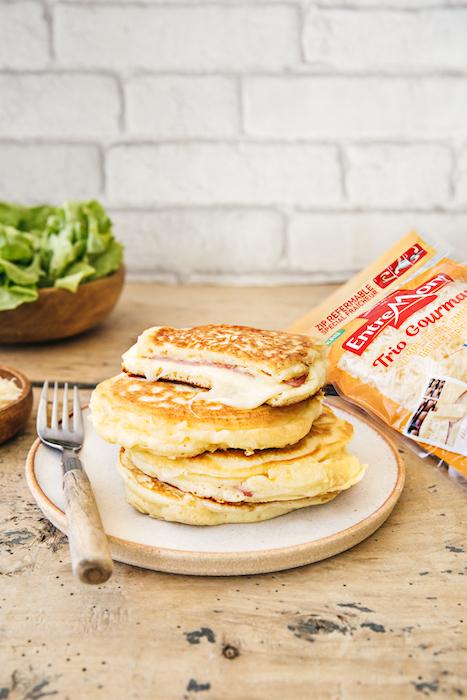 recette de Pancakes salés au Trio Gourmand