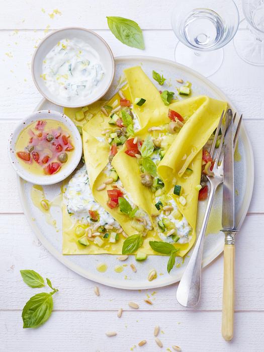 recette de Ravioles d'été au fromage blanc