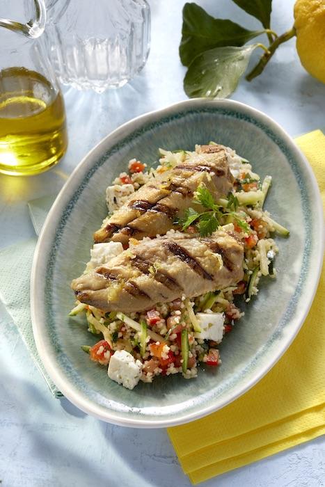 recette de Taboulé aux filets de sardines