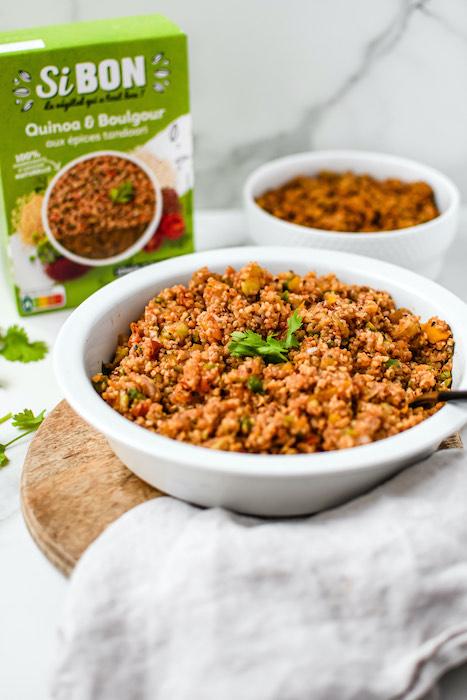 recette de Taboulé indien végétarien