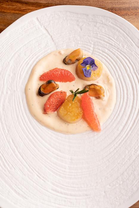 recette de Fruits de mer en sauce de pamplemousse