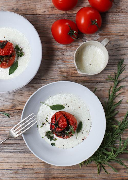 recette de Tomates farcies aux légumes
