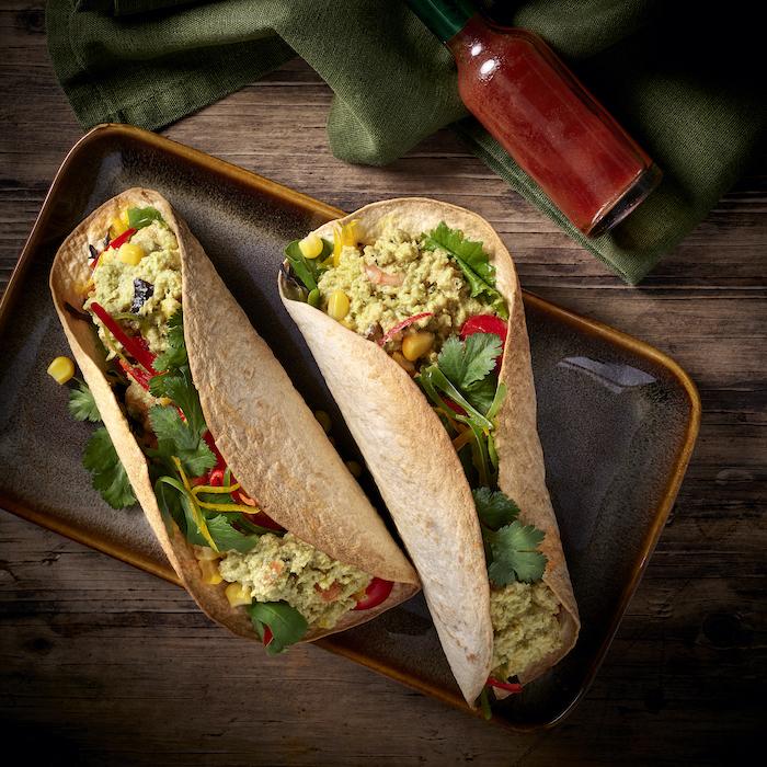 recette de Tacos aux crevettes façon thaï