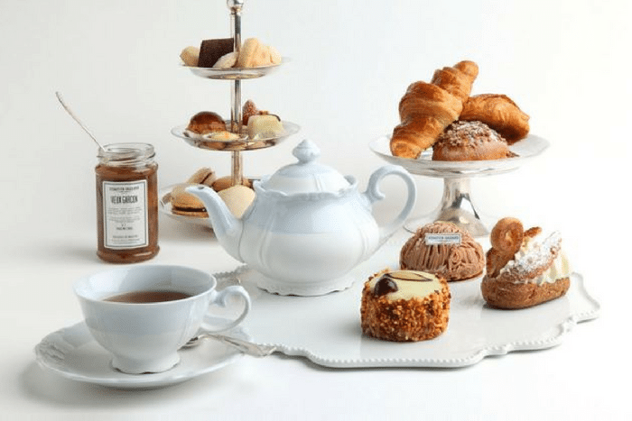 Tea-time à Paris