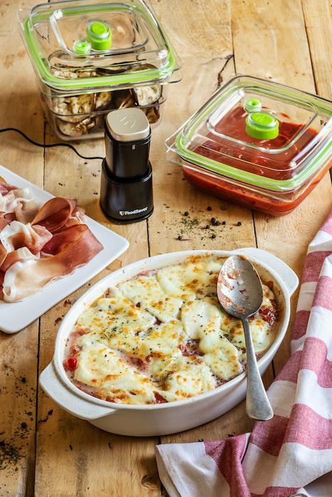recette d'Aubergines à la parmesane
