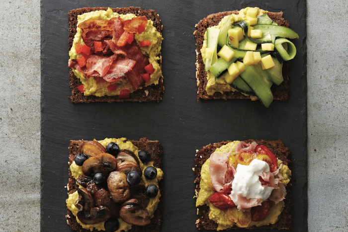 Avocado Toast en six versions