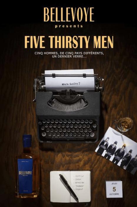 Five thirsty men de Bellevoye