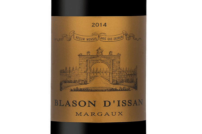 Blason d'Issan 2014