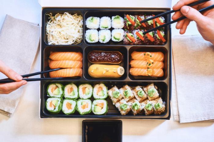 Côté Sushi et Christophe Adam