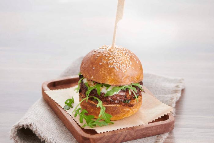 Burgers veggies aux courgettes grillées