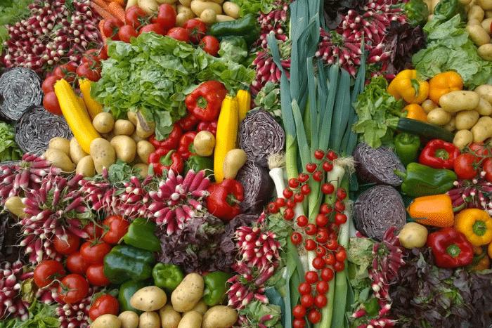 Les fruits et légumes de printemps