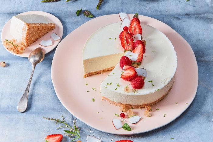 Cheesecake coco au St Môret