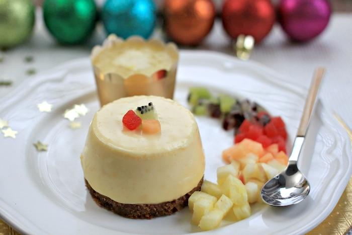 Cheesecake spéculos ananas