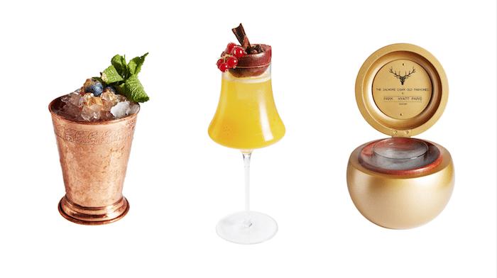 Les cocktails joaillerie du Hyatt Vendôme