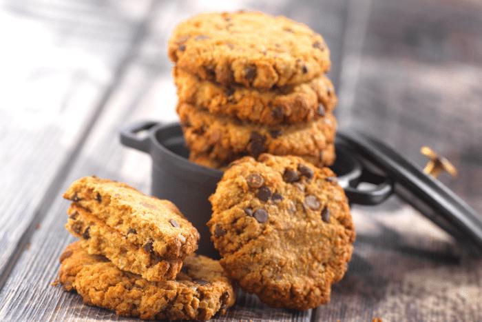 Cookies aux noix de pécan et Nutella