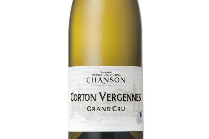 Corton Vergennes Grand Cru 2017
