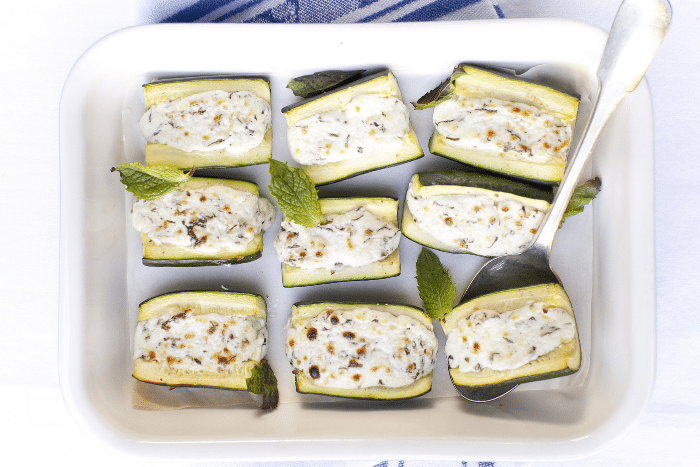 Courgettes farcies